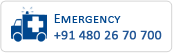 Emergency Contact Number of Co-operative Hospital, Irinjalakuda : +91 480 2670700