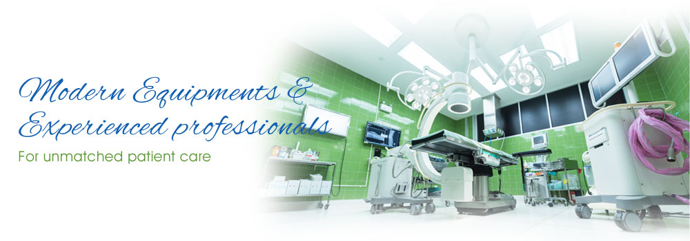 Our Medical Lab Equipped with modern equipments